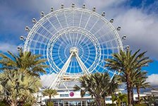The Coca-Cola Orlando Eye Logo