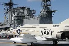 USS Midway  Museum in San Diego CA