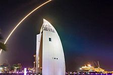 VIP Launch Viewing at Exploration Tower in Port Canaveral FL