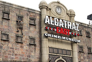 Alcatraz East Crime Museum in Pigeon Forge, Tennessee