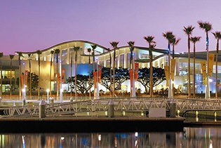 Aquarium of the Pacific in Long Beach, California