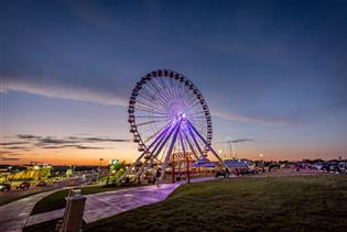 The Branson Ferris Wheel  in Branson MO