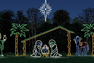 Branson Holiday Lights Tour in Branson MO