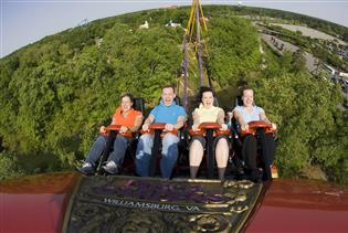 Busch Gardens Williamsburg in Williamsburg VA