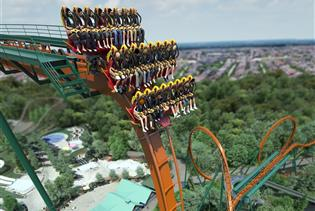 Canada's Wonderland in Vaughan ON