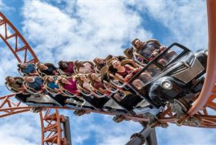 Carowinds in Charlotte, North Carolina