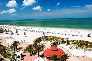 Clearwater Beach and Boat Tours with Transportation in Orlando FL