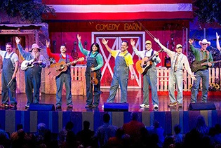 The Comedy Barn Christmas in Pigeon Forge TN