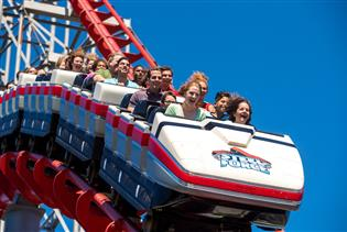 Dorney Park in Allentown, Pennsylvania