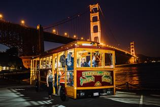 Classic Cable Cars in San Francisco, California