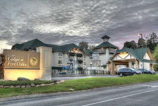 The Lodge at Five Oaks in Sevierville, Tennessee