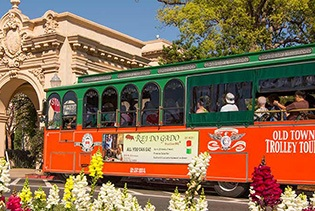 Old Town Trolley Hop-on Hop-off Sightseeing Tours of San Diego in San Diego, California