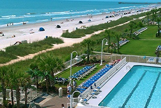 Paradise Resort in Myrtle Beach, South Carolina