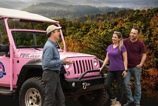 Pink Jeep Tours - Smoky Mountains in Pigeon Forge, Tennessee