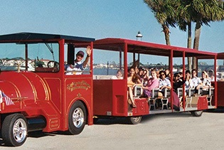 Ripley's Red Sightseeing Trains in St. Augustine, Florida