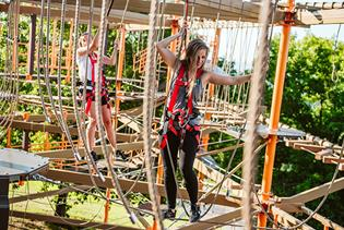 Ropes Course in Branson, Missouri