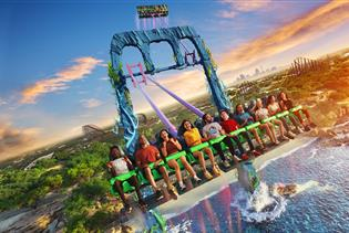 SeaWorld San Antonio in San Antonio, Texas