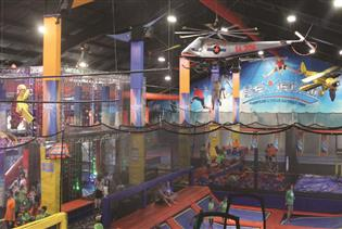 Sevier Air Trampoline & Ninja Warrior Park in Sevierville, Tennessee