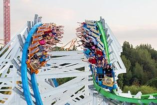 Six Flags Magic Mountain In Valencia Ca
