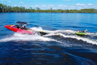 Waterski, Wakeboard, & Tubing Charters with Buena Vista Watersports in Orlando, Florida