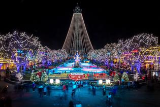 Winterfest at Kings Dominion in Doswell VA