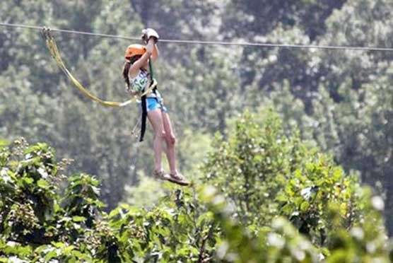 Adventure America Zipline Canopy Tours in Hartford TN