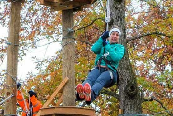 Adventureworks Climb Zip Swing in Sevierville TN
