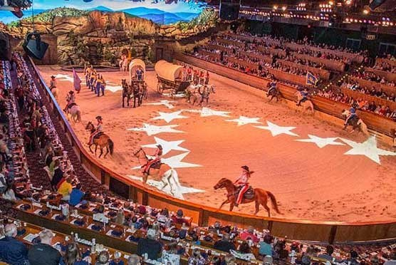 Dolly Parton's Dixie Stampede Dinner Attraction in Pigeon Forge TN