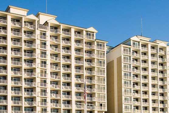 Myrtle Beach Resorts Oceanfront Hampton Inn