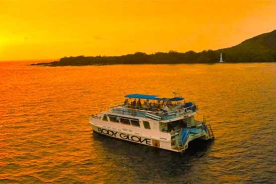 Historical Sunset Dinner Cruise to Kealakekua Bay in Kailua Kona, Big Island HI