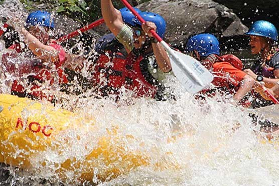 Pigeon River Rafting with NOC