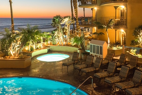 Pacific Terrace Hotel in San Diego CA
