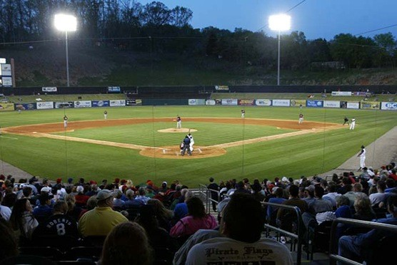Tennessee Smokies Baseball in Kodak TN