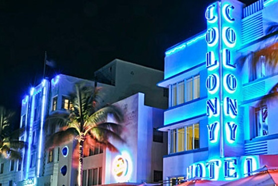 The Colony Hotel in Miami Beach FL