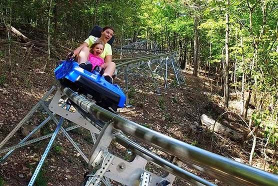 The Runaway Mountain Coaster in Branson MO