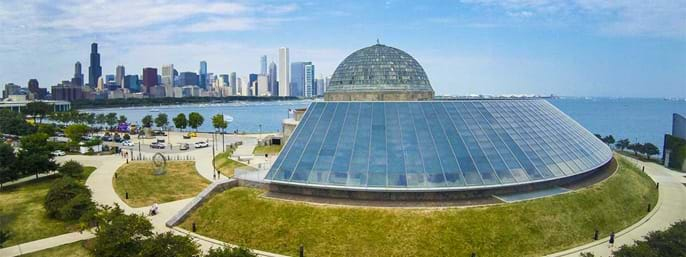 Adler Planetarium in Chicago IL