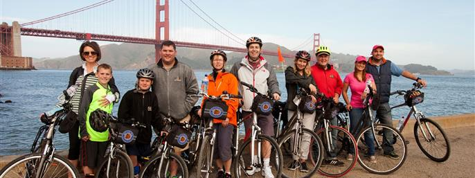 Bay City Bike Rentals & Tours in San Francisco  CA