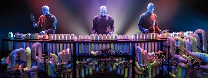 Blue Man Group in New York NY