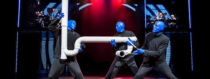 Blue Man Group NYC in New York NY