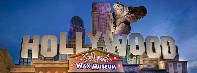 Hollywood Wax Museum Entertainment Center All Access Pass in Branson MO