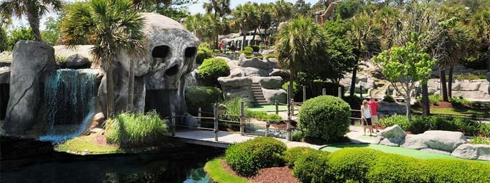 Captain Hook's Adventure Golf in Myrtle Beach SC