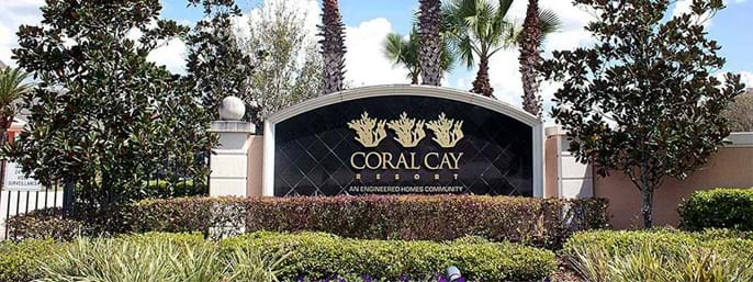 Coral Cay Resort Townhomes in Kissimmee FL