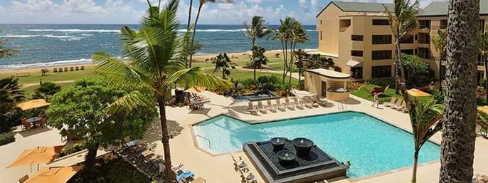 Courtyard by Marriott Kauai at Coconut Beach in Kapaa, Hawaii