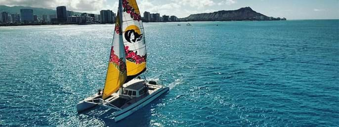 Dolphin Snorkel & Sail in Waianae HI