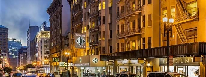 Handlery Union Square Hotel in San Francisco CA
