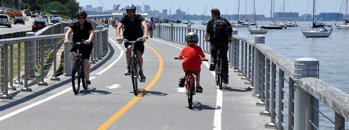 Hudson River Bike Rentals in New York NY