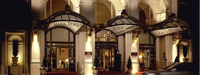 InterContinental Mark Hopkins in San Francisco CA