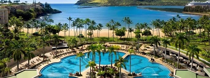 Kauai Marriott Resort in Lihue, Hawaii