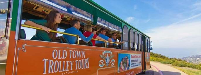 Old Town Trolley La Jolla & San Diego Beaches Tour in San Diego CA