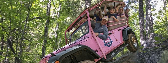 Newfound Gap Smoky Mountains - Pink Jeep Tour in Pigeon Forge, Tennessee